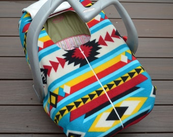 Native American Baby Car Seat Cover For Cold Weather
