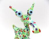 Cute Monster Plush, Alien Toy, Alien Plush, Stuffed Animal, Stuffed Alien, Monster Toy by Adopt an Alien named Kelsea