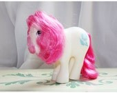 Vintage G1 MLP My Little Pony RARE Mail Order Birthflower Pony April Daisy