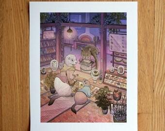 Bakers Den - Print