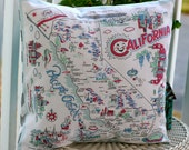 PILLOW INSERT ONLY for I Love California Pillow Cover