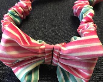 Cotton hair bows