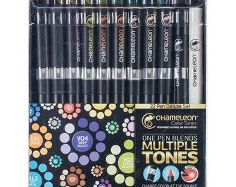 Chameleon Color Tones Markers Deluxe Set 22/Pkg