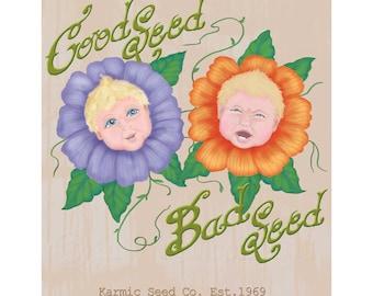 Karmic Seeds Print