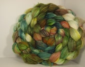 Polwarth/Tussah Silk 60/40 Combed Top Roving - 5oz -  Sea Turtle 3