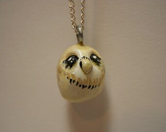 peppy owl necklace