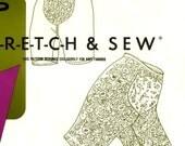 825 Stretch & Sew 750 Ladies Pantie Girdle Front Panel Slimming size S M L 32-40 Hip Petite to Plus Size Vintage 60's Sewing Pattern Uncut