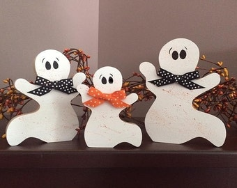 Set of 3 Ghosts, personalized