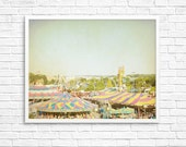 BLACK FRIDAY Childrens Room, Nursery Photography, Carnival Photography, Rides, Textures, Stripes, Pastels - Carnival Tents