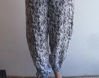 Few of A Kind Soft Zebra Blim Pants