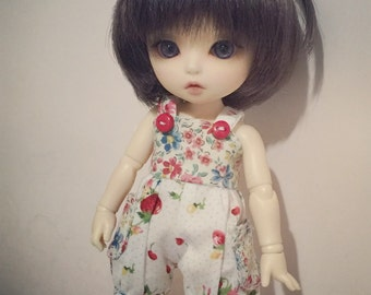 Reserved order Flora pattern cutie overall for Lati Yellow or Pukifee