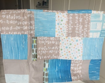 Fresh and Modern Baby Quilt