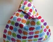 Rainbow Sheep Knana's Knot Bag
