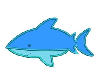 SALE 65% off Applique Shark Machine Embroidery Designs 4x4 & 5x7 Instant Download Sale