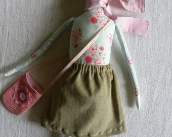 Bernice   handmade girly doll