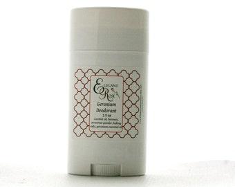 Geranium Natural Deodorant