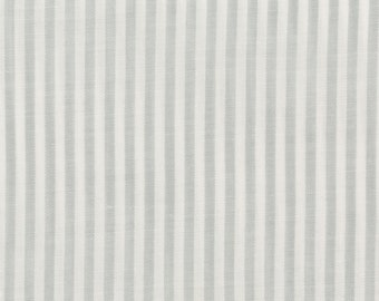 Cotton Fabric Narrow Blue and White Stripes, Beautiful, Crisp, 35 inches wide, Sold by the 1/2 yard, Quilting, Pants, skirt, vest, jacket