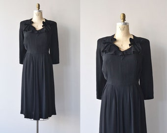 Lady Miss dress | 1930s maternity dress | vintage 30s dress
