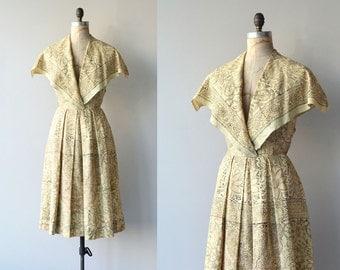 Bhiwandi dress | indian cotton 50s dress | vintage 1950s dress