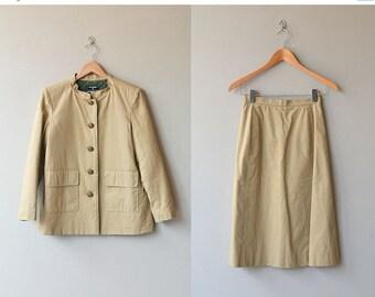 25% OFF SALE Chanel suit   vintage quilted jacket and skirt   vintage Chanel jacket
