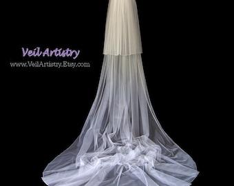Classic Veil, Long Veil, Teardrop Veil, Cathedral Veil, Royal Cathedral Veil, 2 Tier Veil, Crystal Veil, Made-to-Order Veil, Custom Veil