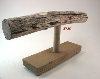 bracelet display stand ocean beach driftwood jewelry display with hardwood base group C