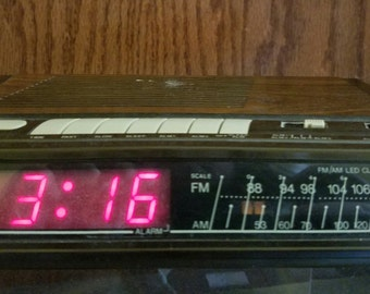 1980s Alarm Clock