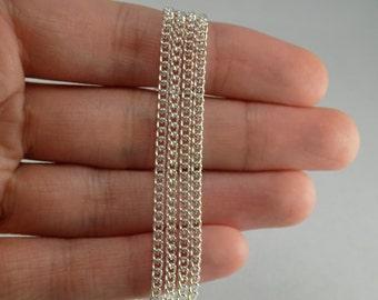 Silver Chain - 12 feet - #CH00973