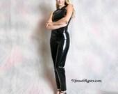 Women's LATEX 5-Pocket Jeans, slim fit, standard waist, straight leg, 28 waist, 27 inseam