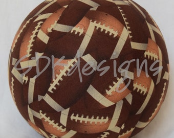 Fabric Balloon Ball Cover - Football TOY - as seen with Michelle Obama on parenting.com