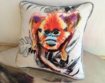 Mega Monkey Cushion