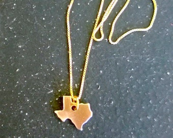 Tiny Texas Necklace