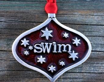 Swim team ornament   Etsy