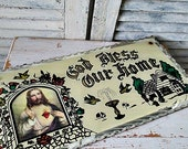 1930's GoD BLeSS OuR HoMe PLaQuE!!