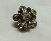 Beautiful Vintagel Rhinestone Scatter Pin