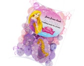 Disney Collection Rapunzel  Princess Collection Beads,  about 70 beads, Jesse James Beads