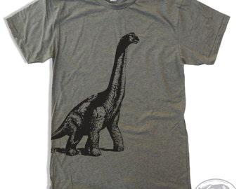 Mens DINOSAUR Shirt american apparel S M L XL (11 Color Options)