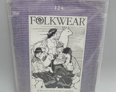 Vintage Folkwear Bolivian Milkmaid Jacket UNCUT Women's Sizes 8 to 14
