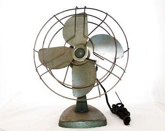 Oh Industry - vintage 1950s industrial fan