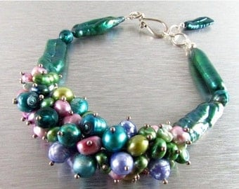 20 % Off Colorful Pearl Bracelet