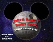 Star Wars Death Star Family Cruise Magnet for Disney Cruise Door Decoration