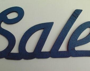 Small Blue SALE stencil 1/4 inch rubber Craft Supply