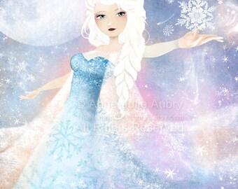 Elsa (Frozen) - Deluxe Edition Print