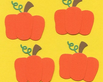 Lot of 4 Quickutz Pumpkin Die Cuts