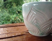 Lily Cup - Tea Cup - Bowl - Dish - Candle Holder - Jewelry Keeper - hand carved