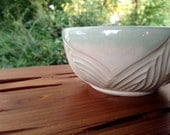 Lily Bowl - Floral - Garden - Jewelry Keeper, Holder - Soap Dish - hand carved