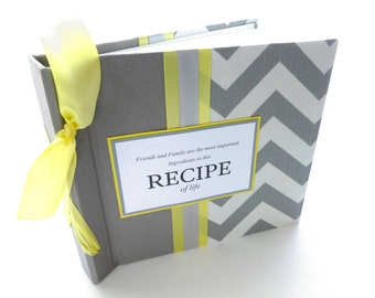 8x8 custom recipe book for cards