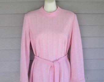 Vintage Parkshire Original Pink Knit Dress