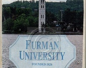 Furman University,Greenville, South Carolina, Marble Stone Coaster,Mix and Match With My Other Coasters To Make A Set..