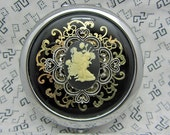 Compact Mirror Garden Flower Fairy Comes With Protective Pouch